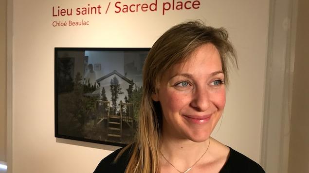 L'artiste québécoise Chloé Beaulac à la Maison des artistes francophones