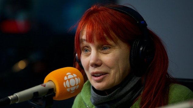 Chloé Sainte-Marie, en studio
