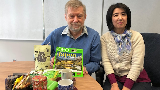 Claude Rodrigue et Kazumi Furukawa