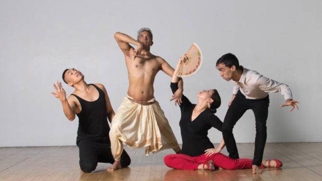 Les danseurs du spectacle Passages of Rhythms