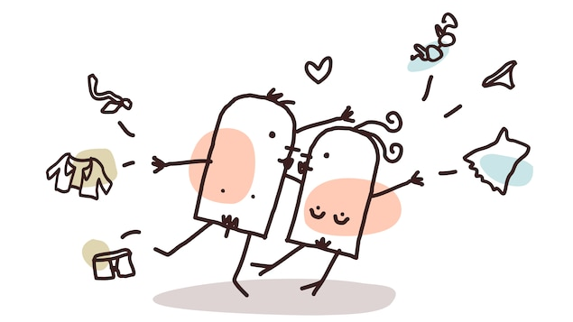 Un couple nu