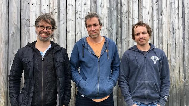 André Lavergne, Éric Proulx et Éric Dion