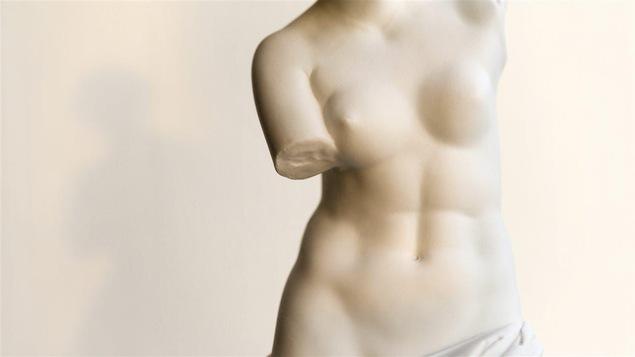 Une copie de la Vénus de Milo.
