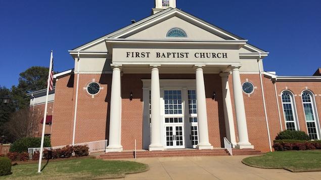 Une église baptist en Alabama