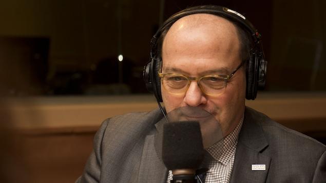 Le chroniqueur Luc-Alain Giraldeau, biologiste.