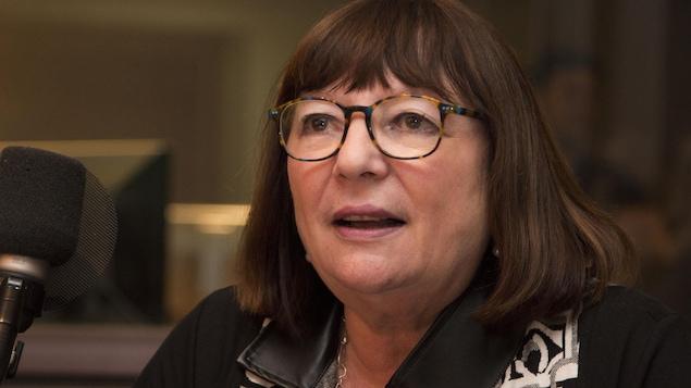 La productrice, actrice et scénariste québécoise Monique Simard