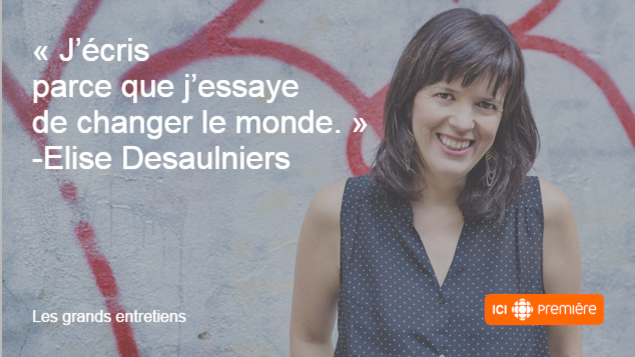 Citation de l'auteure végétalienne Élise Desaulniers