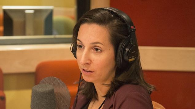 Gabrielle Jobin Trépanier, professeure en jeux vidéo et industries culturelles à l'École des médias de l'Université du Québec à Montréal