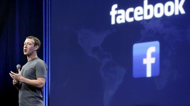 Le fondateur de Facebook, Mark Zuckerberg
