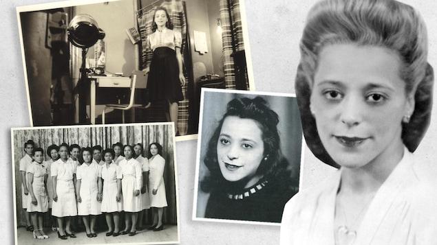 La femme d'affaires Viola Desmond, figure emblématique dans la lutte pour les droits civiques au Canada.