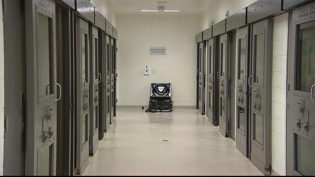 Plusieurs cellules de prison