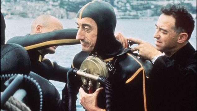 L'océanographe Jacques-Yves Cousteau (1965)