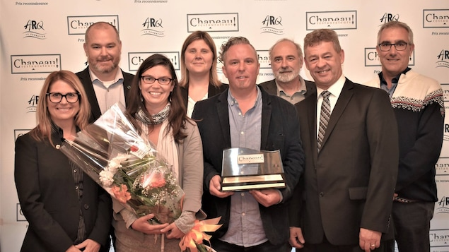 Le chef Jean-Sébastien Sicard, du restaurant Chez Mathilde, lauréat du prix Chapeau restaurateurs! de l'Association des restaurateurs du Québec (ARQ)