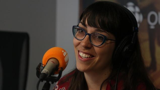 Julie Caron, journaliste CBC Québec