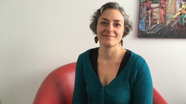 Katy Roy, fondatrice de la Bibliothèque Apothicaire.