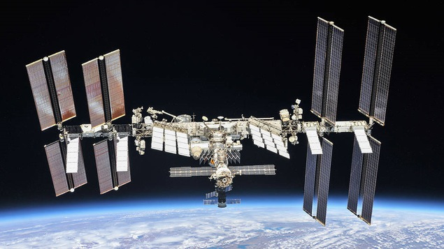 Station spatiale.