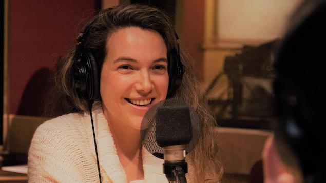 Catherine Dufour parle de sa passion au micro de Francis Reddy.