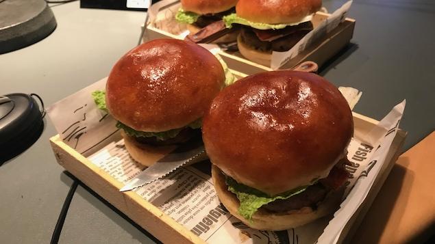 Les hamburgers du chef Daniel Charbonneau