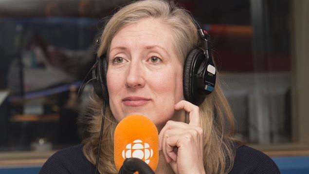 Lesley Chesterman en entrevue au studio 17