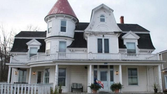Le manoir O'Leary, à Richibouctou, Nouveau-Brunswick