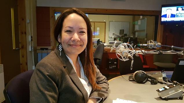 Marjolaine Tshernish, directrice générale de l'institut Tshakapesh.