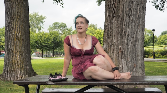 La voyageuse Anick-Marie Bouchard