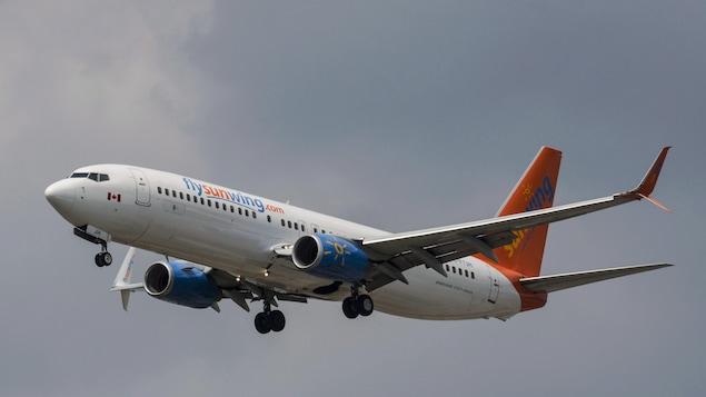 Un Boeing 737 de la compagnie Sunwing.