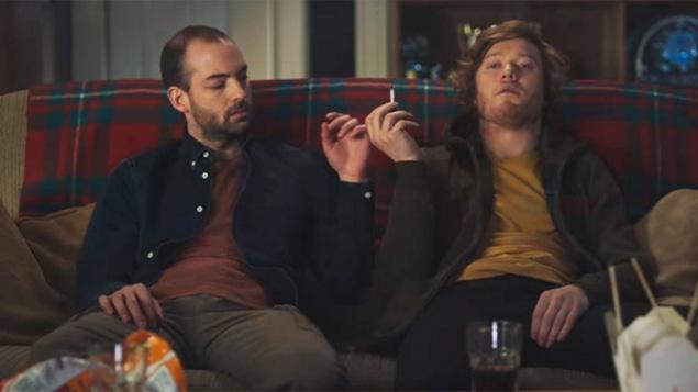 Image d'une publicité controversée de la Société de l'assurance automobile du Québec sur les effets du cannabis au volant