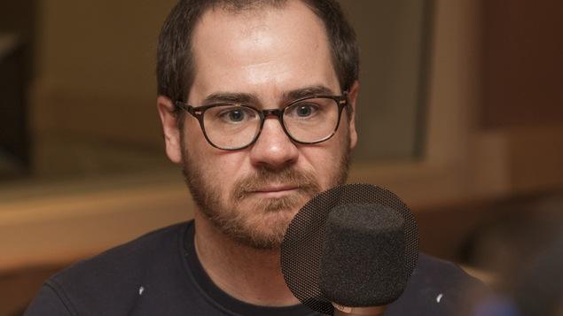 Jérôme Dupras au micro de Catherine Perrin.