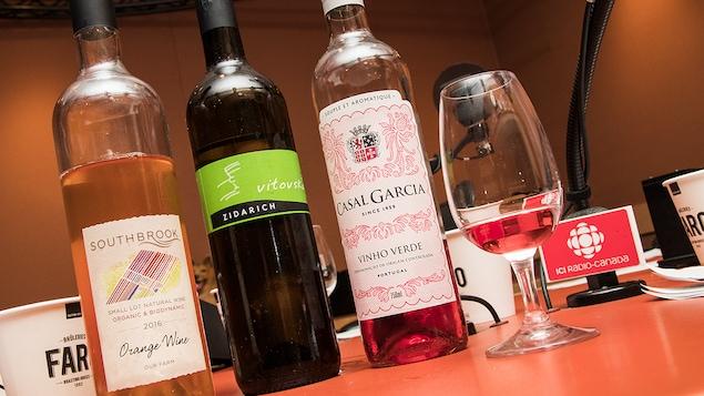 Les vins présentés par Élyse Lambert cette semaine