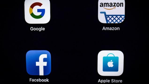 Google, Facebook, Amazon et Apple