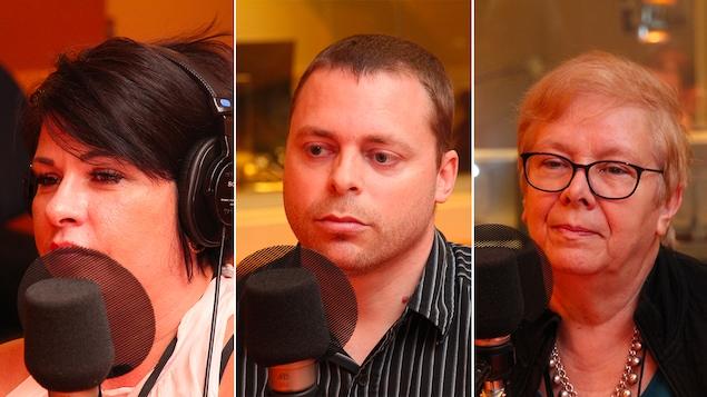 Mélanie Carpentier, Ronald Lepage et Lilia Goldfarb