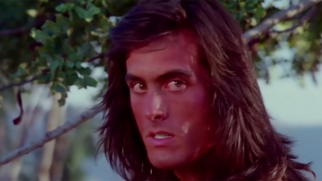 Image tirée du film <i>Samurai Cop</i> (1991)