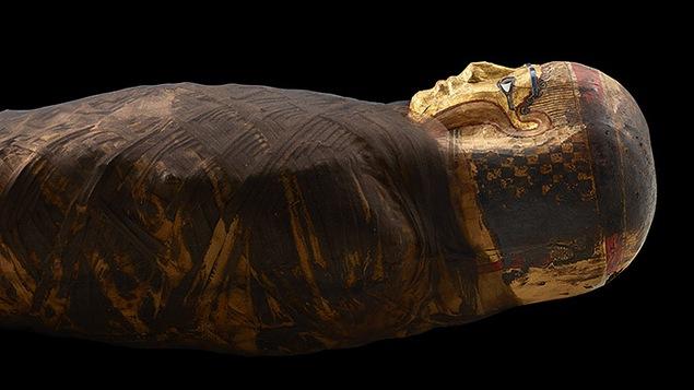 Une momie égyptienne