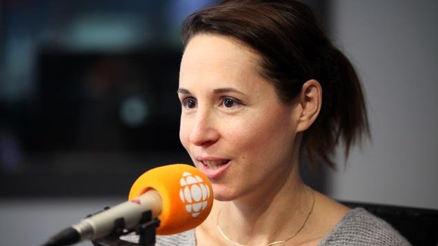 Nadine Bismuth, en studio