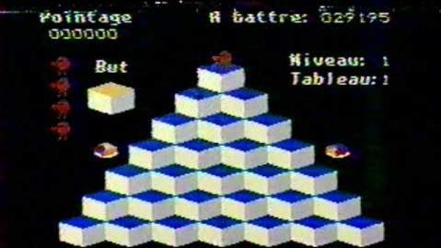 Jeu de la pyramide de Videoway par Videotron