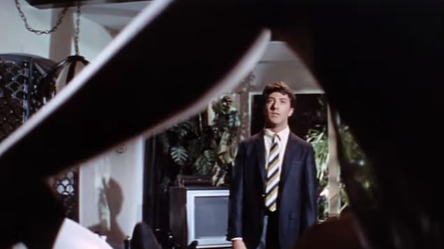 The Graduate a été l'un des tous premiers films joués par l'acteur Dustin Hoffman. Il était âgé de 30 ans lors du tournage.
