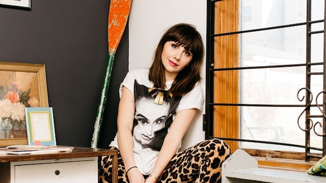 La journaliste musicale Jessica Hopper, auteure du livre « The First Collection of Criticism by a Living Female Rock Critic ».