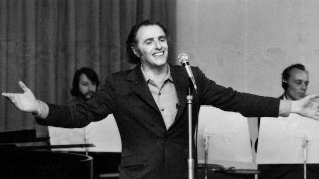 Gilles Vigneault en 1970
