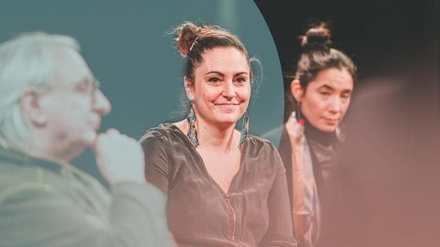 Denis Bellemare, Kim O'Bomsawin et Odile Joannette côte-à-côte