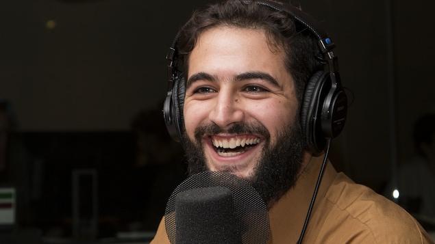 Rabii Rammal sourit à pleines dents