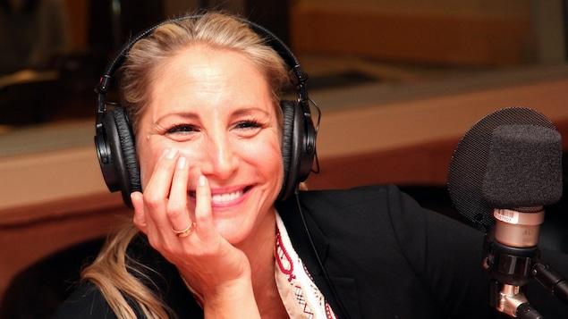 La comédienne Mahée Paiement