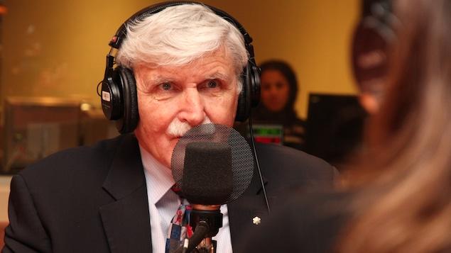 Le général à la retraite Roméo Dallaire dans nos studios