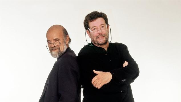 Serge Bouchard et Bernard Arcand en 2007