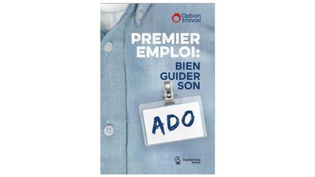 Le livre Premier emploi:bien guider son ado est ouvrage pratique à 2 faces : l'un pour les parents, l'autre pour les ados est désormais  disponible dans nos libraires.