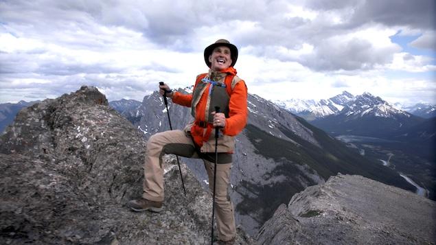 Arthur l'aventurier au sommet des Rocheuses