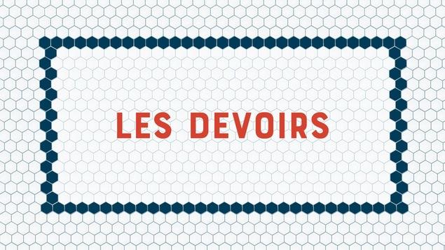 Illustration des mots Les devoirs.