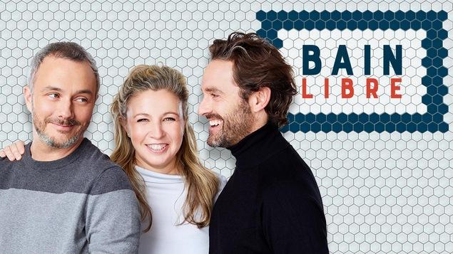 Vincent Bolduc, Jessica Barker et Guillaume Lemay-Thivierge.