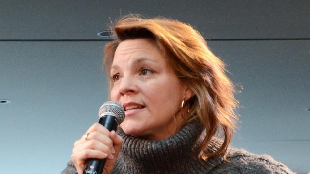 Catherine Proulx-Lemay à la Place des Arts