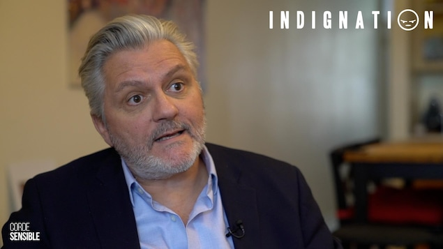 Richard Martineau en entrevue.